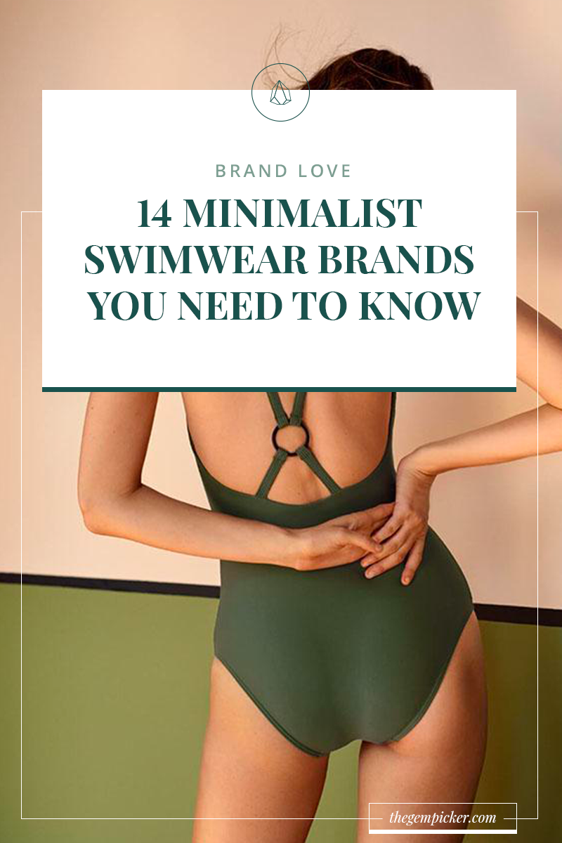 minimalist swimwear brands you need to know
