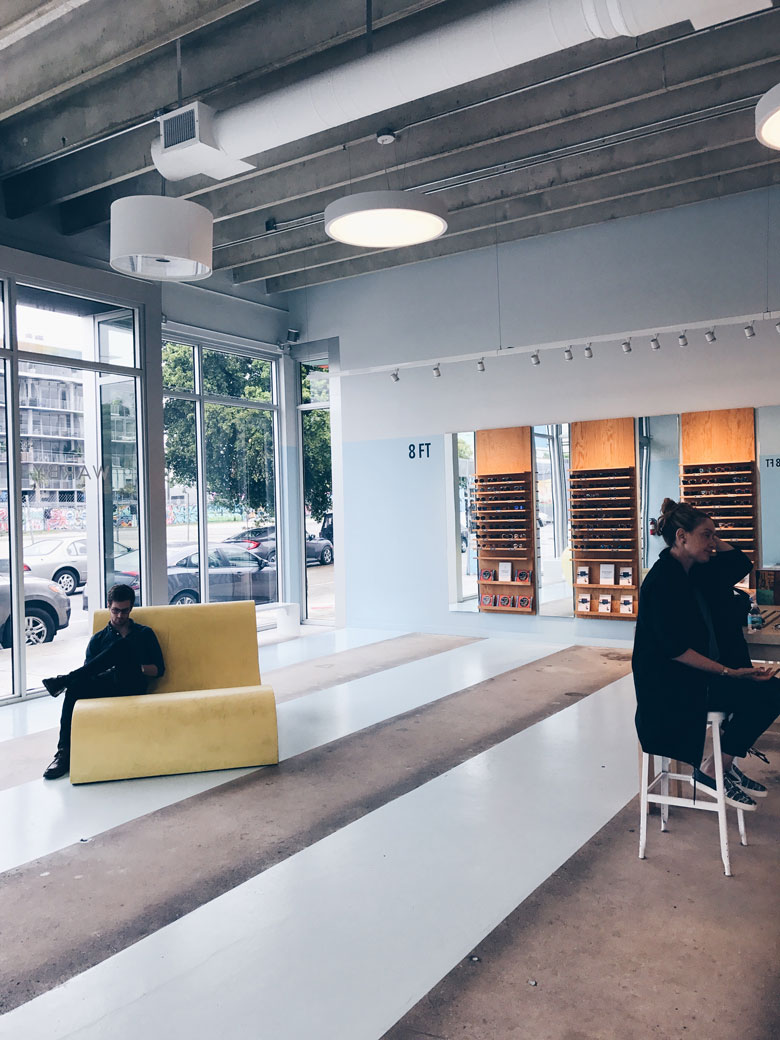 Warby Parker sunglasses - A taste of my week in Miami