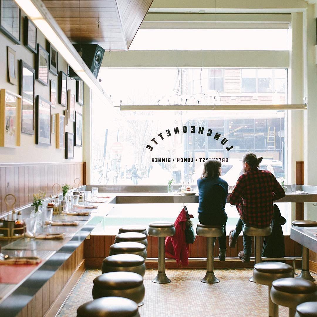 Dove's Luncheonette an authentic 60's themed restaurant