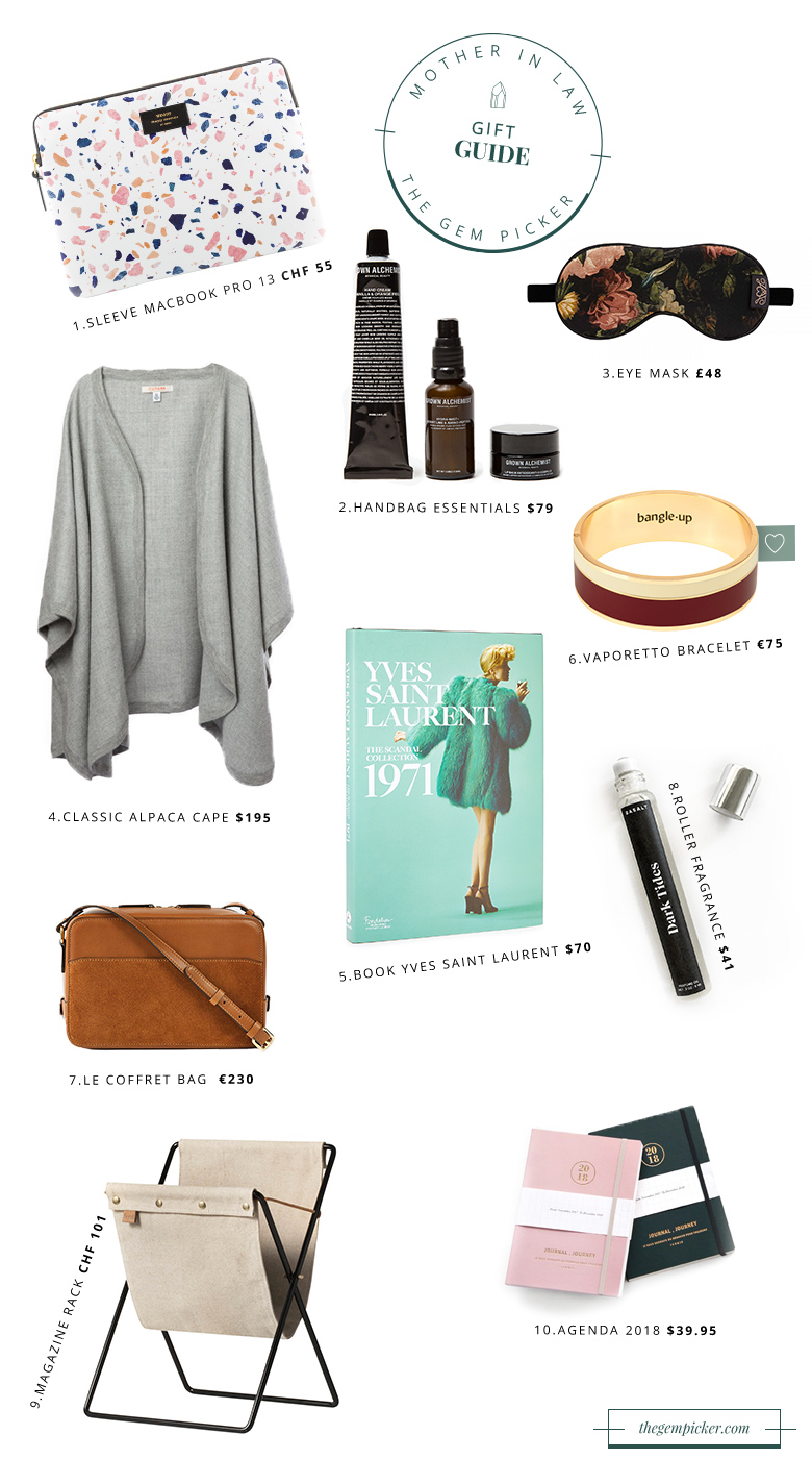The christmas gift guide for your mother in law