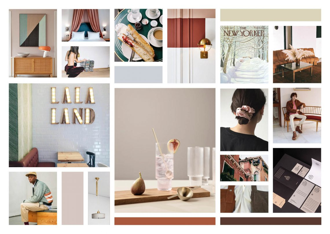 7 past trends a moodboard