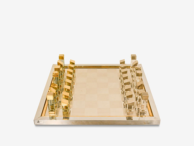 fav eshops vintage and antique - chess board plexiglas romeo rega 70s