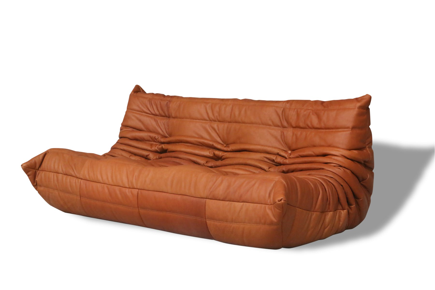 fav eshops vintage and antique - 3 seats sofa Togo Ligne Roset by Michel Ducaroy