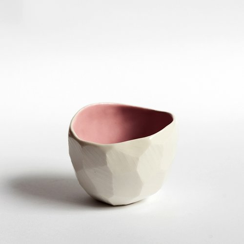 ceramic bowl by SKandiHus Pink Diamond slow living the gem picker