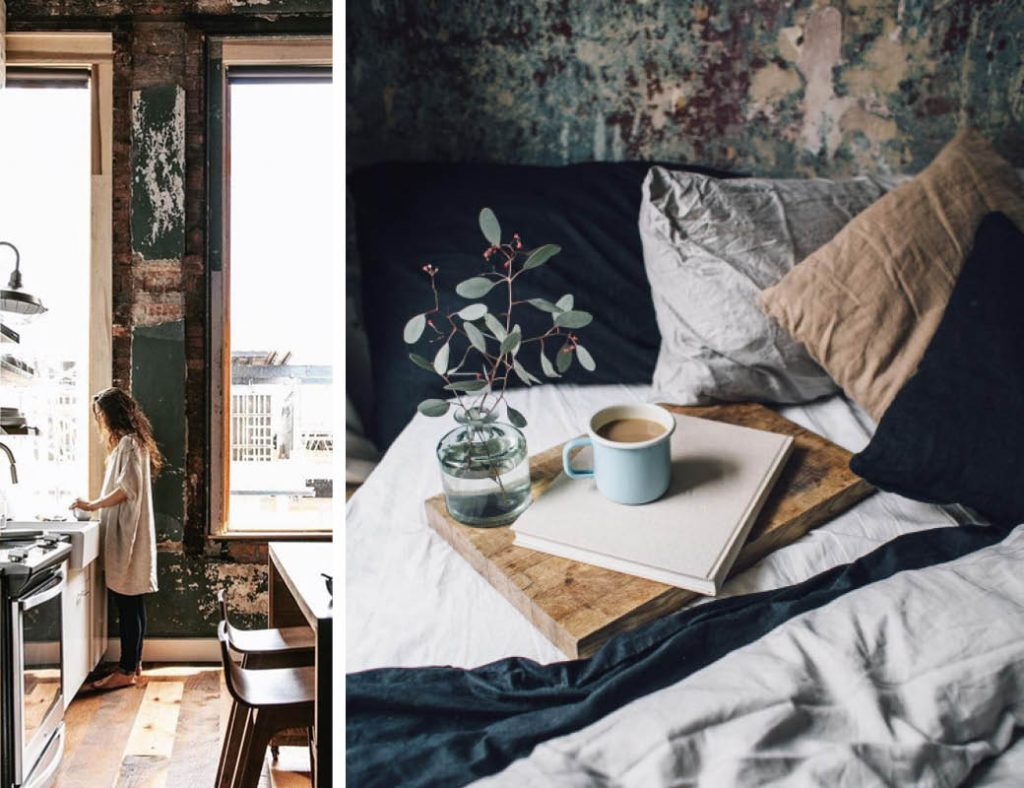 Apply the slow life concept to your interior with these simple ideas