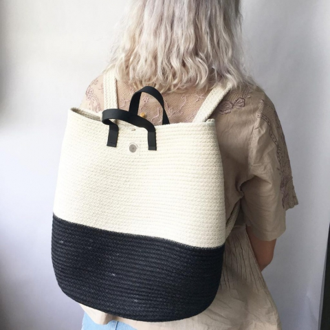 handmade backpack by northern market the gem picker