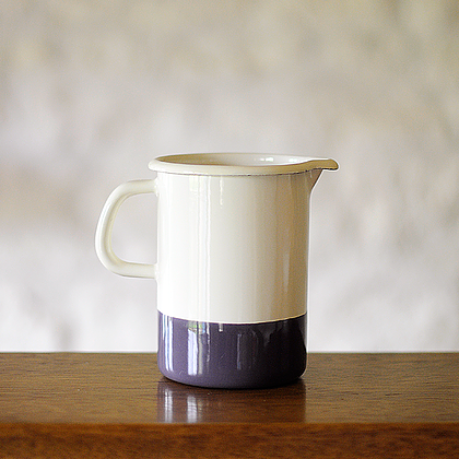 handmade decor items enamel measuring jug