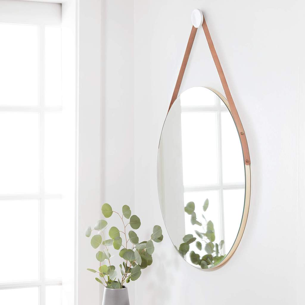 handmade decor items hanging mirror