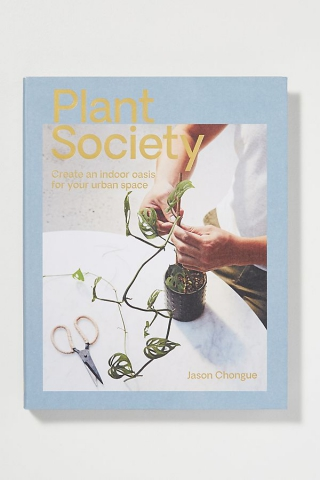plant society book table coffee slow living the gem picker