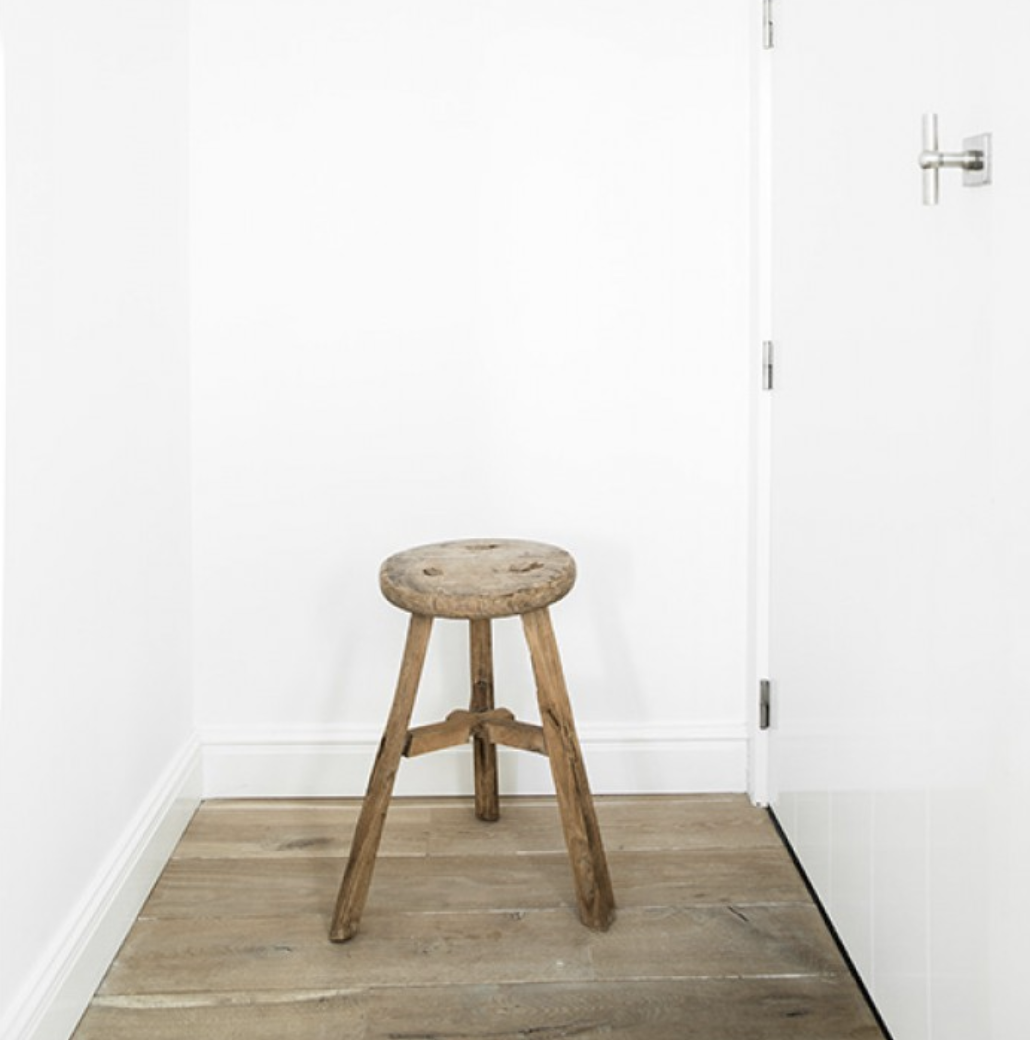 Get the look: Paris boutique hotel, Grands Boulevards - Antique stool
