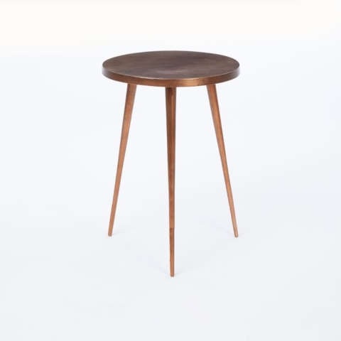 Get the look: Paris boutique hotel, Grands Boulevards - Tripod Side Table