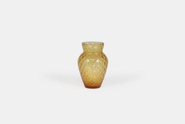 Get the look: Paris boutique hotel, Grands Boulevards - Vintage vase pineapple