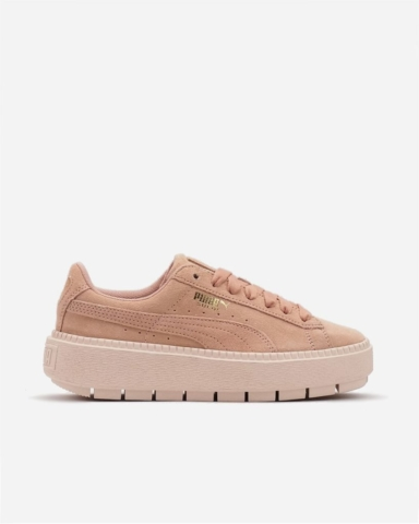 SUEDE PLATFORM TRACE - Puma - spring cleaning - The Gem Picker