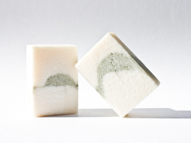 PEPPERMINT + LEMONGRASS soap -Charlotte and Castel spring cleaning - The Gem Picker