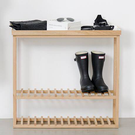 Hello Hallway Storage Table - Wireworks spring cleaning - The Gem Picker