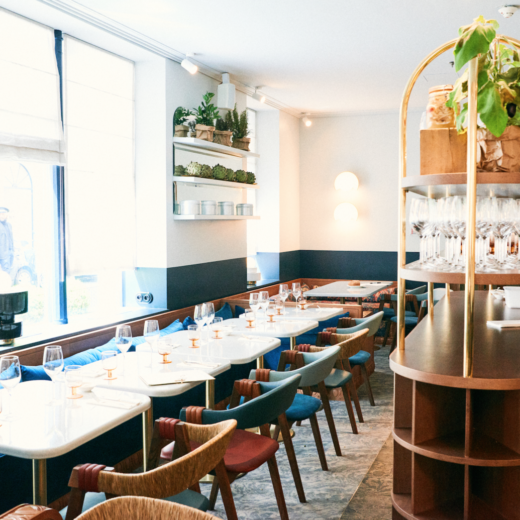 A restaurant in Paris that will please your eyes and taste buds