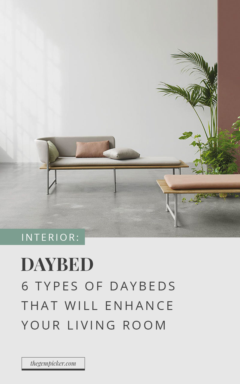 6 types of daybeds