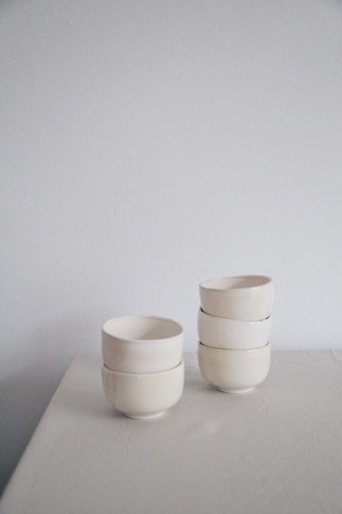 Ceramic Studio Maitoinen - bowls in pile