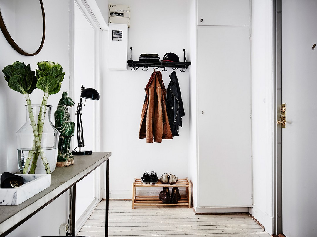functional and stylish entryway
