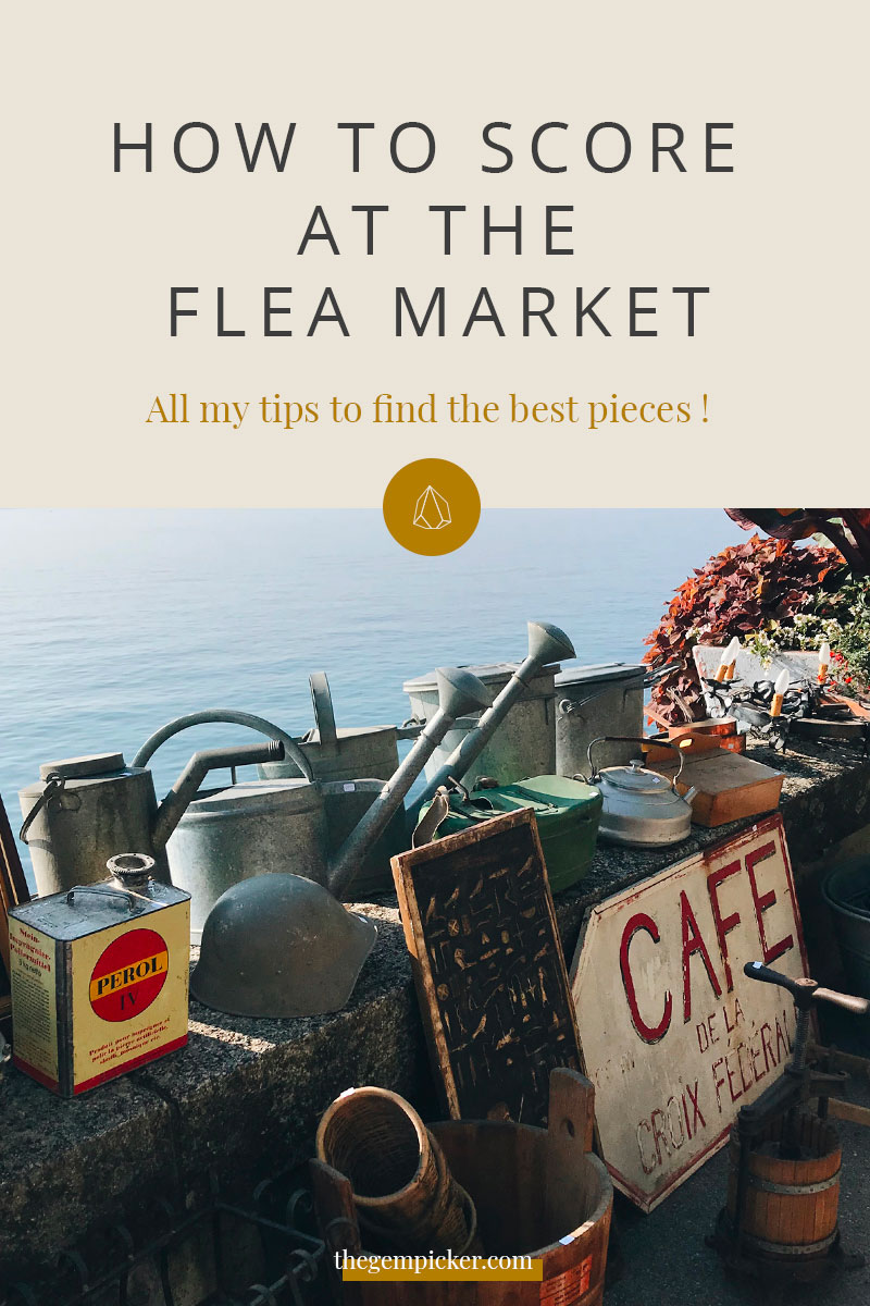 It's not always easy to find items at the flea market. So here are 8 tips to help you score the best pieces and get the fairest price possible. read on