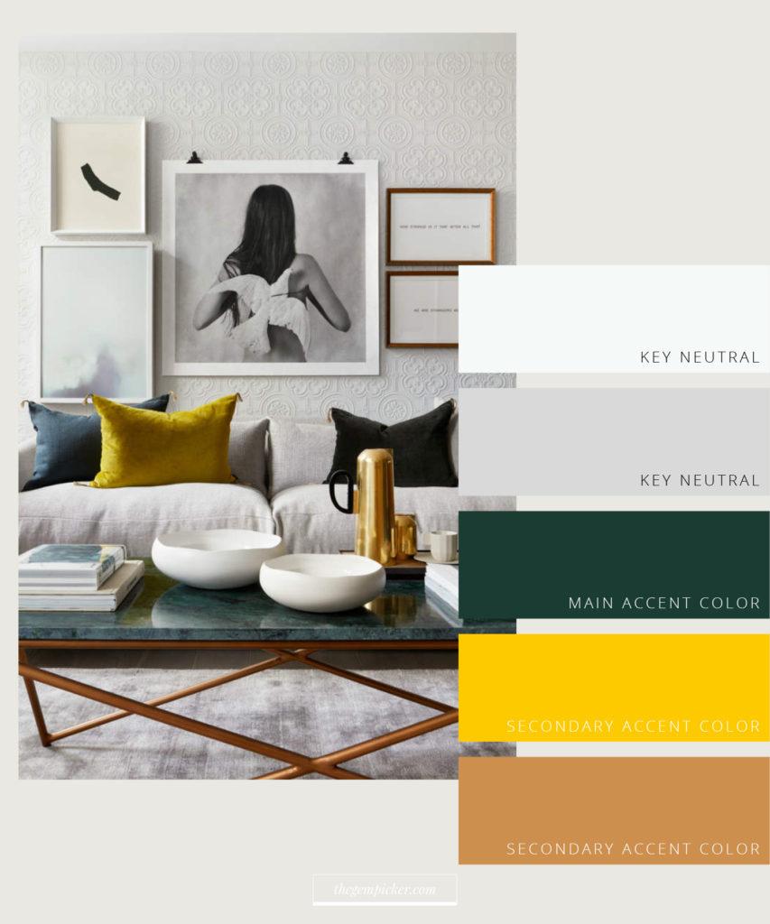 color palette for interior